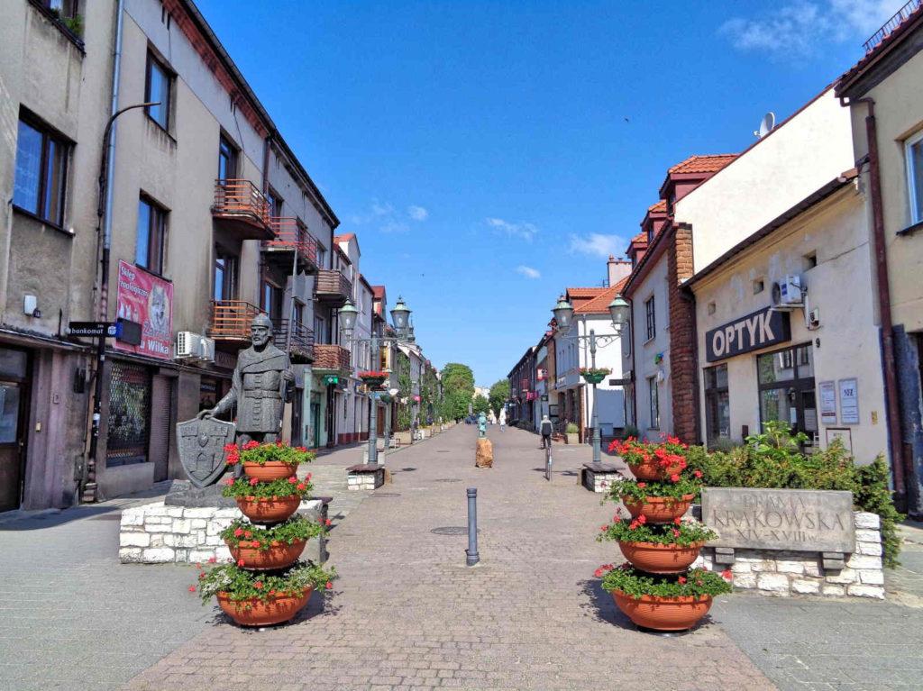 Olkusz,  ulica Krakowska