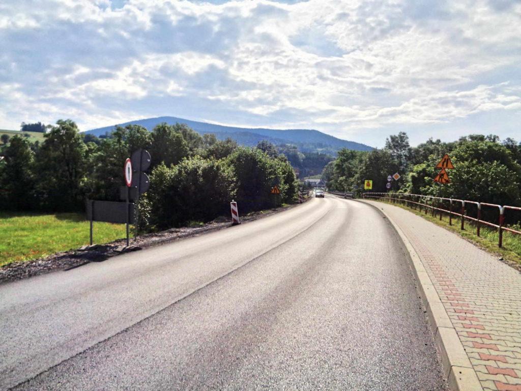 Droga do Mszany Dolnej