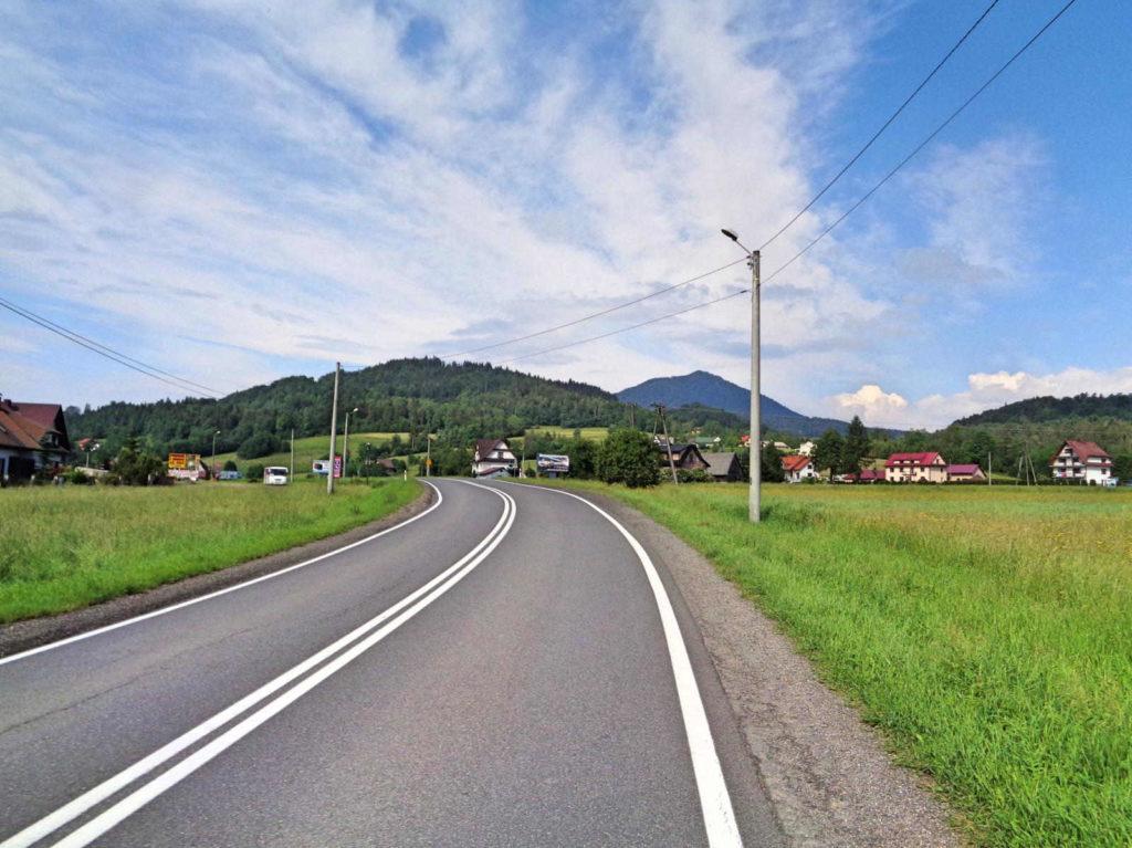 Droga krajowa 28 rowerem