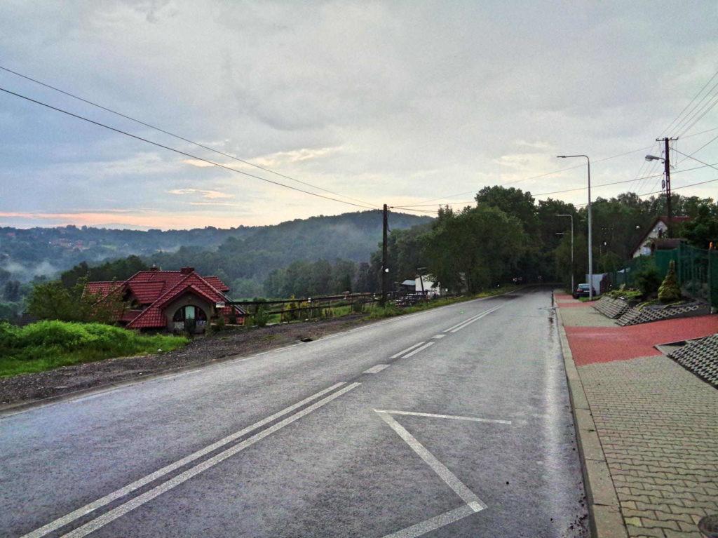 Droga na Świątniki Górne