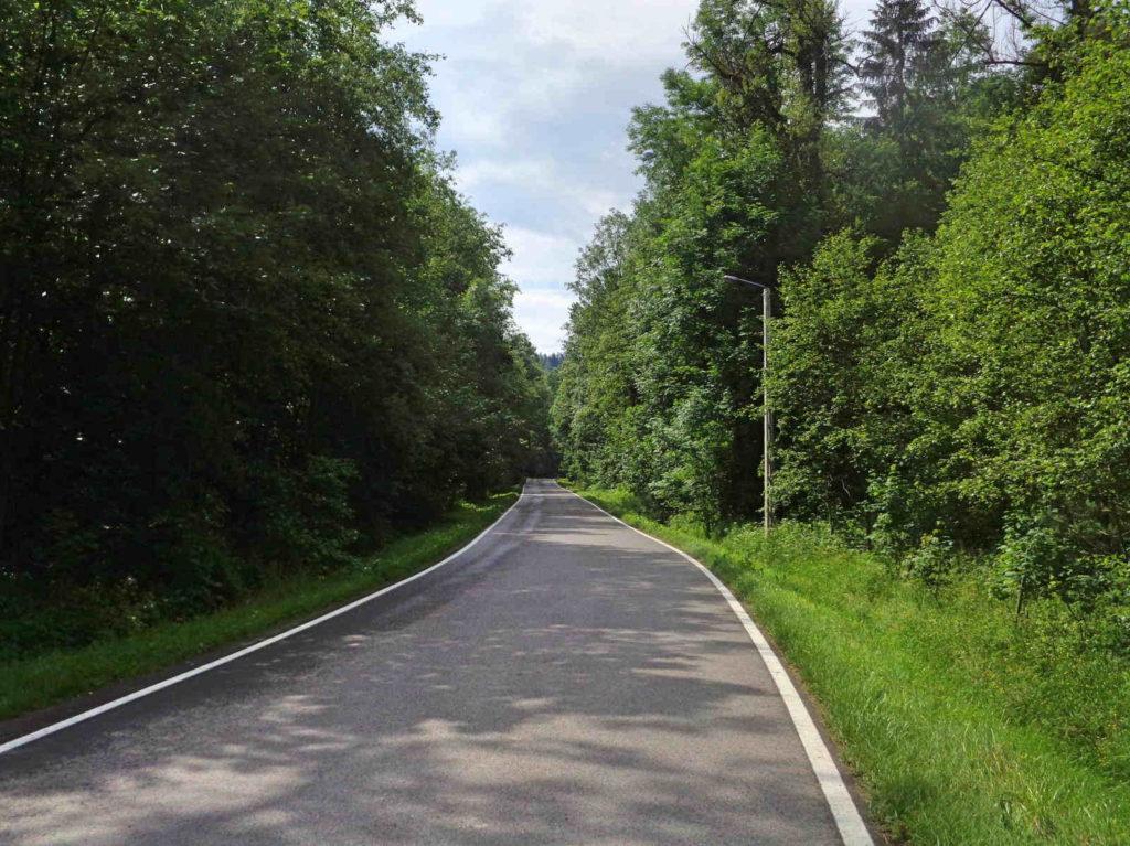 Droga Rabka Zdrój - Rdzawka