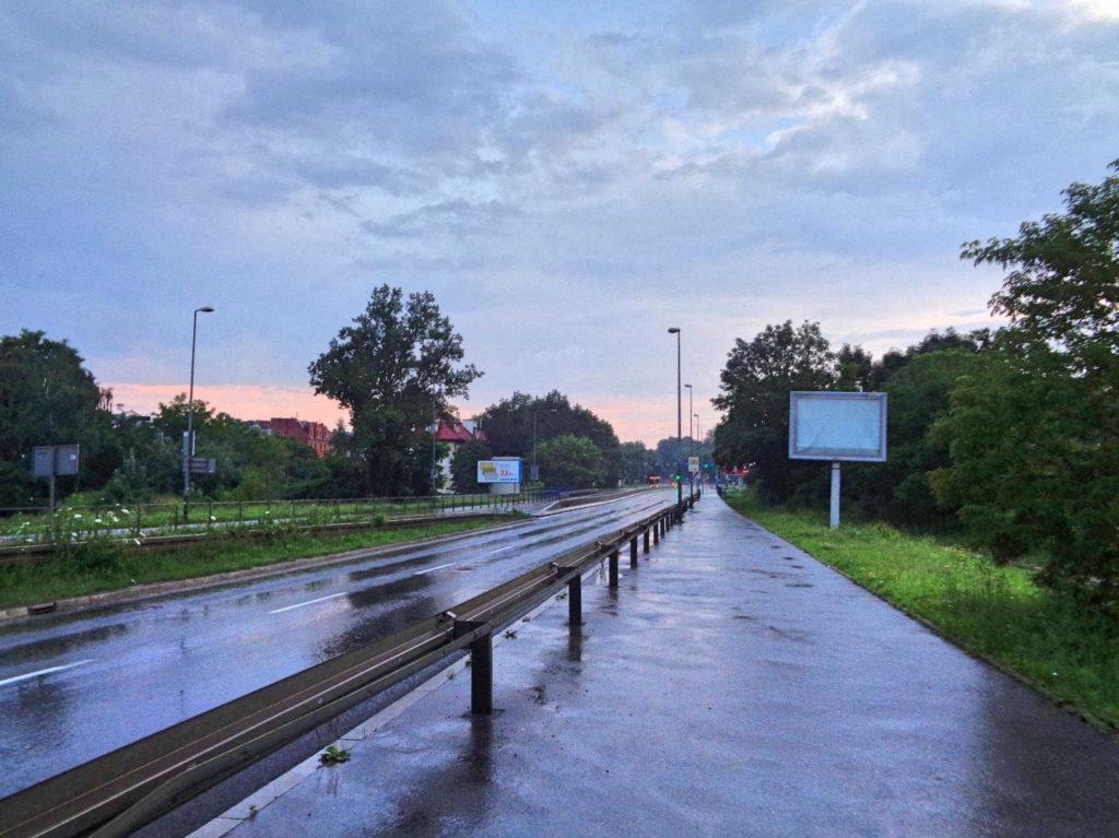 Kraków, ścieżka rowerowa