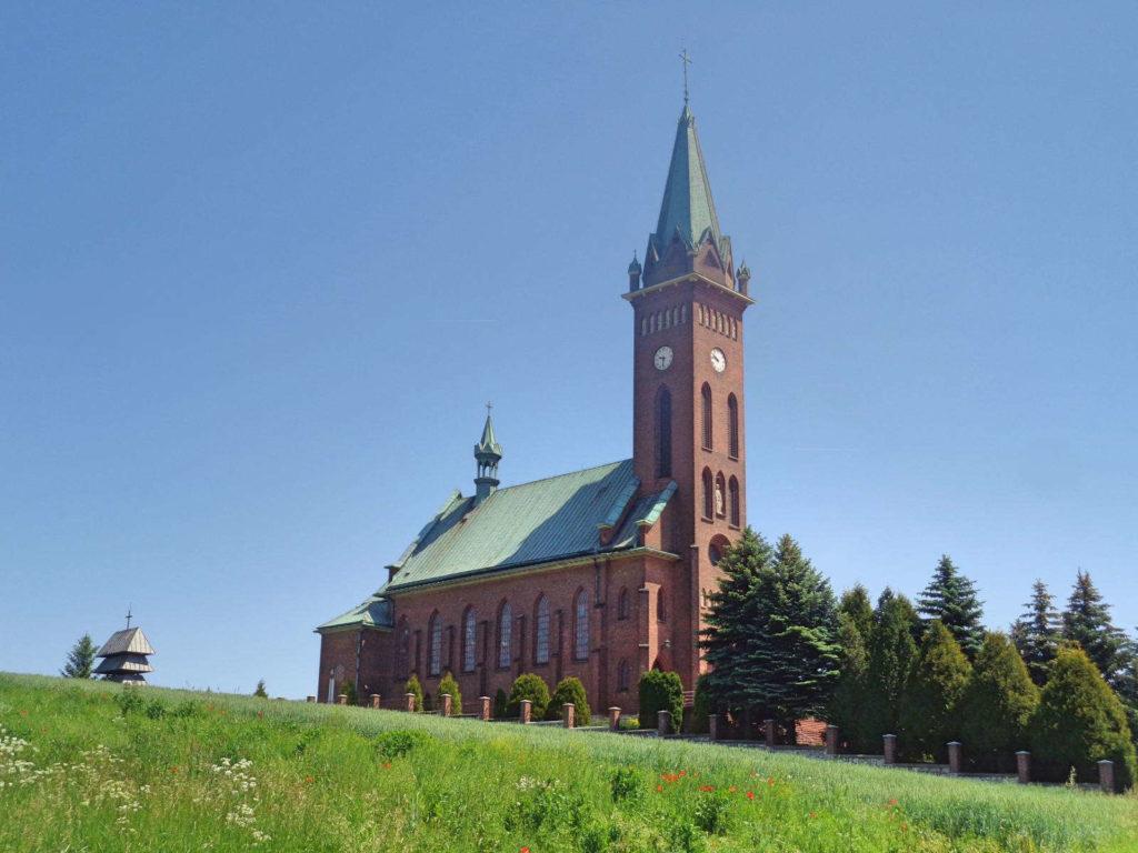 Błędów, Kościół Trójcy Przenajświętszej