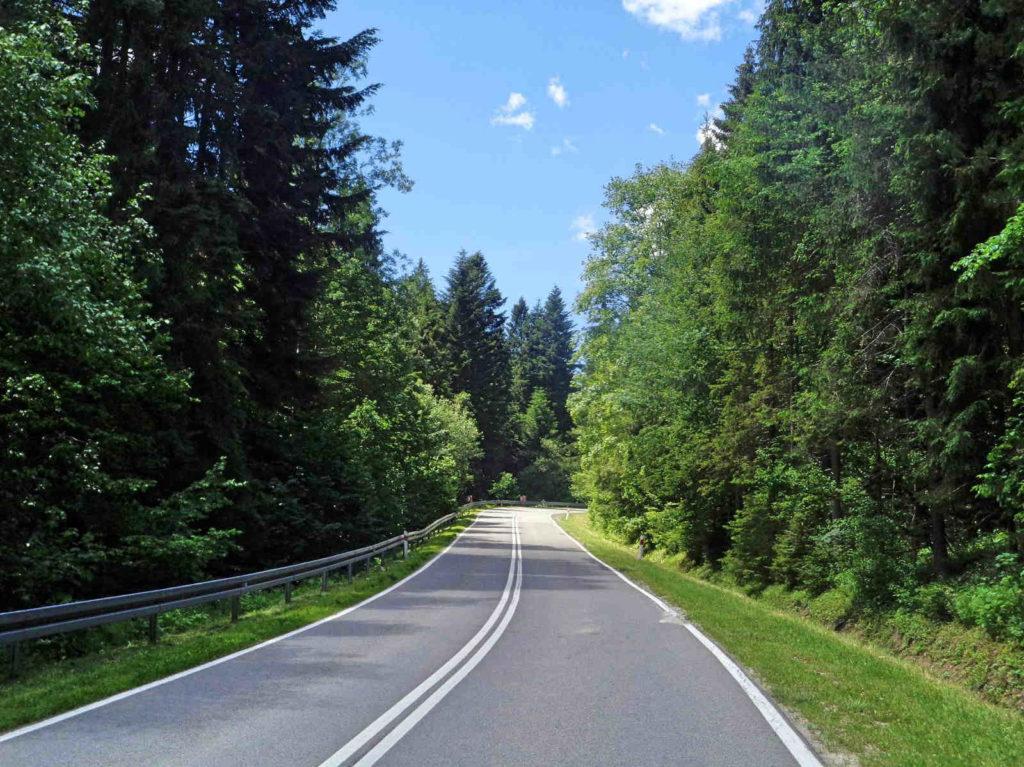 Podjazd na Przełęcz Osice