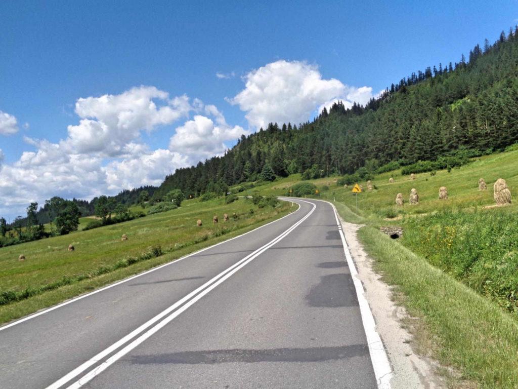Przełęcz Osice, podjazd