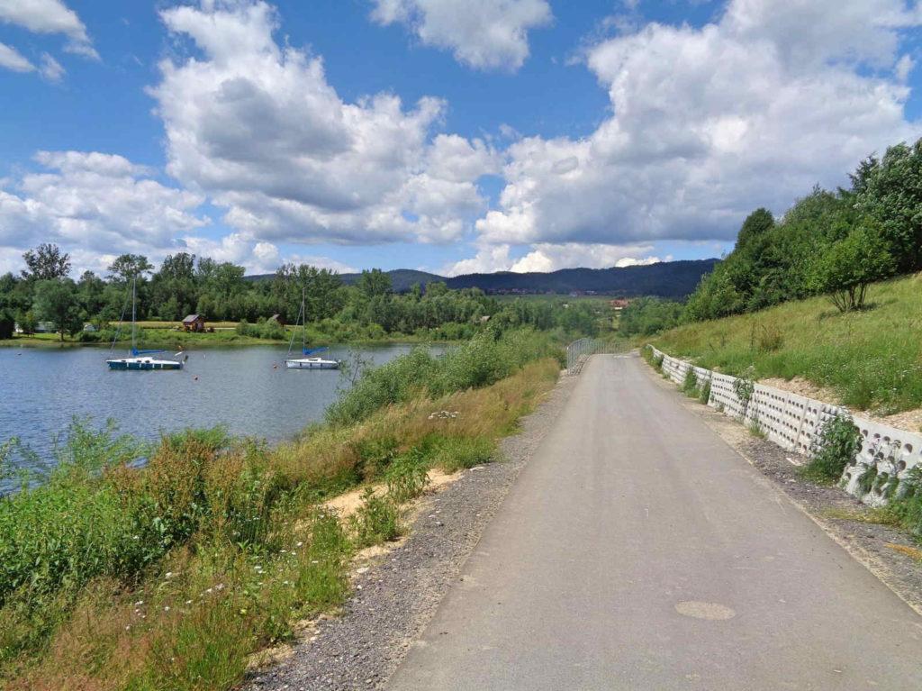 Rowerem dookoła Jeziora Czorsztyńskiego