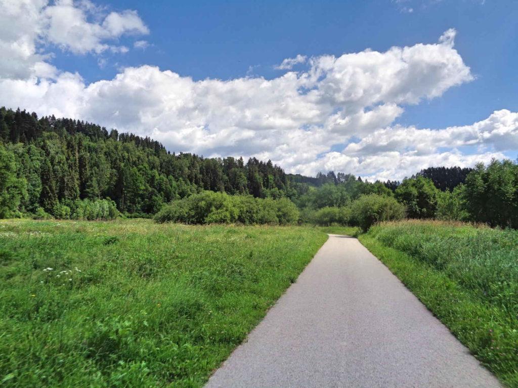 Ścieżka rowerowa Nowy Targ - Jezioro Czorsztyńskie