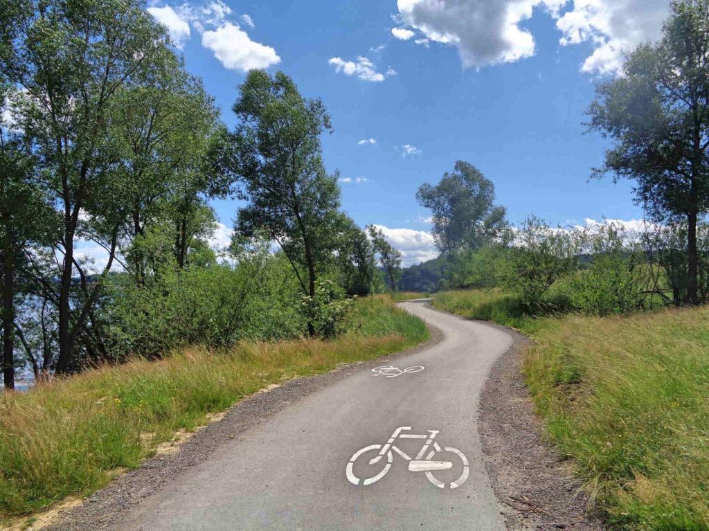 Szlak rowerowy dookoła Jeziora Czorsztyńskiego