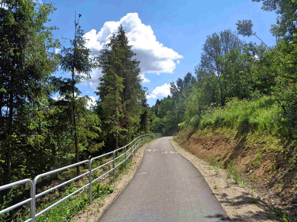Velo Czorsztyn, trasa rowerowa