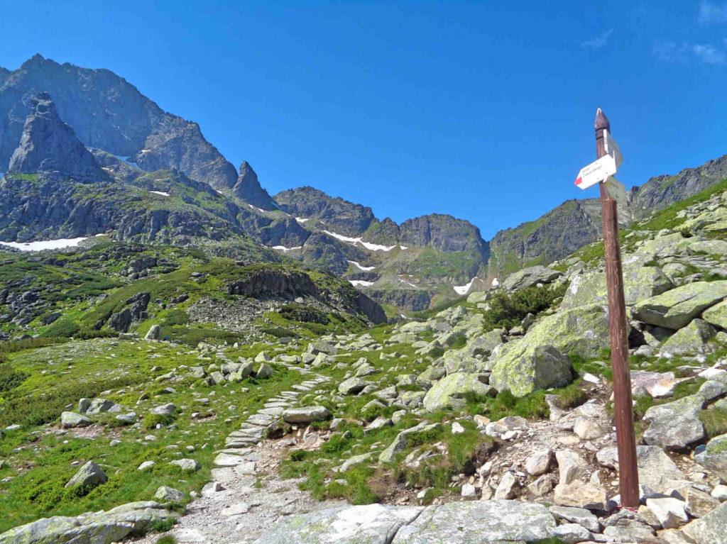 Dolina za Mnichem szlaki