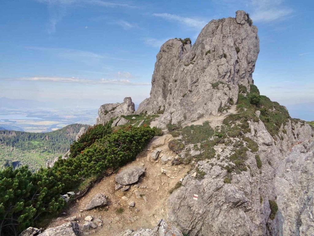 Siwy Wierch, Tatry