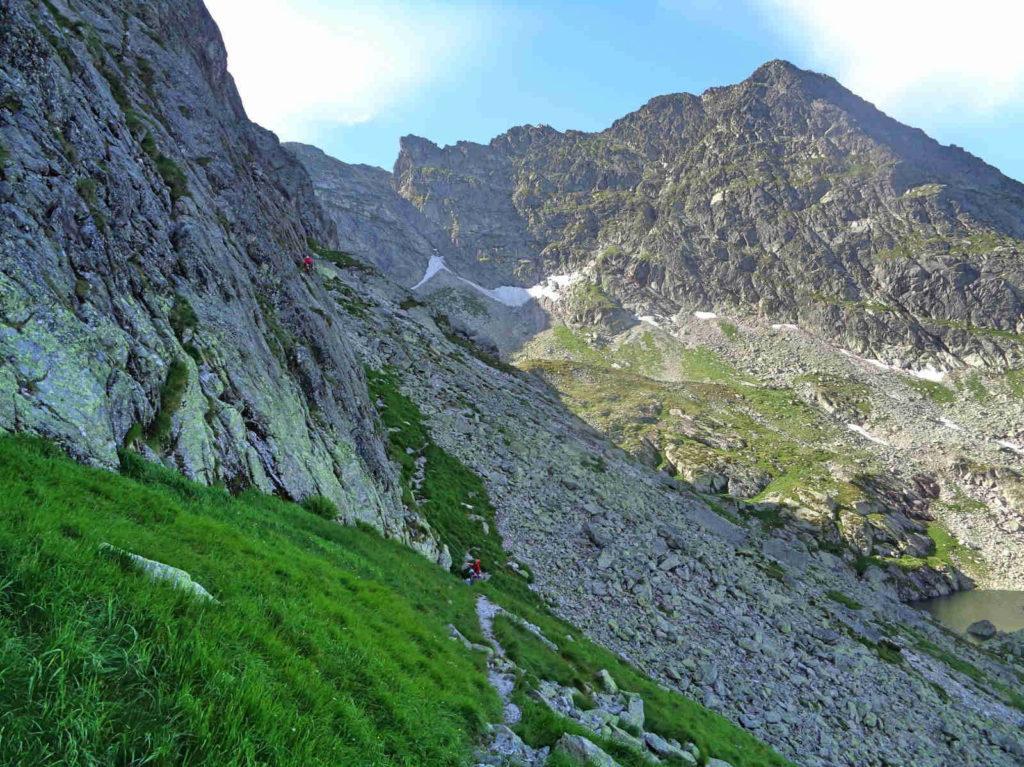Mylna Przełęcz od Przełęczy Karb