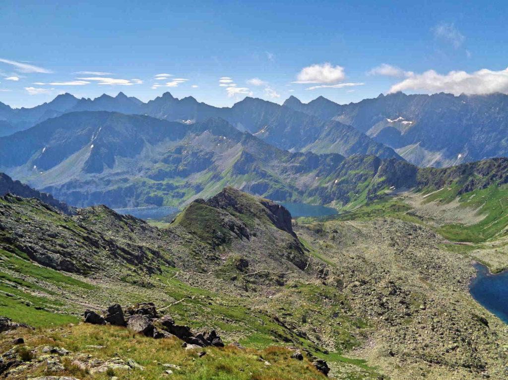 Zawratowa Turnia, panorama