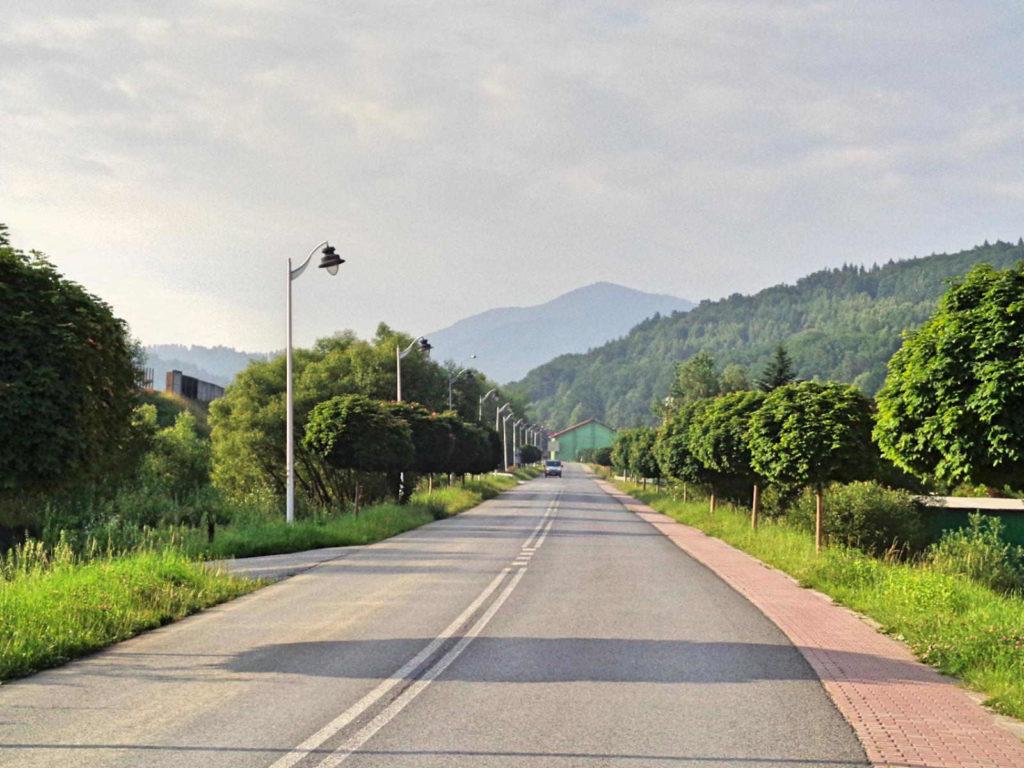 Droga przez Pcim
