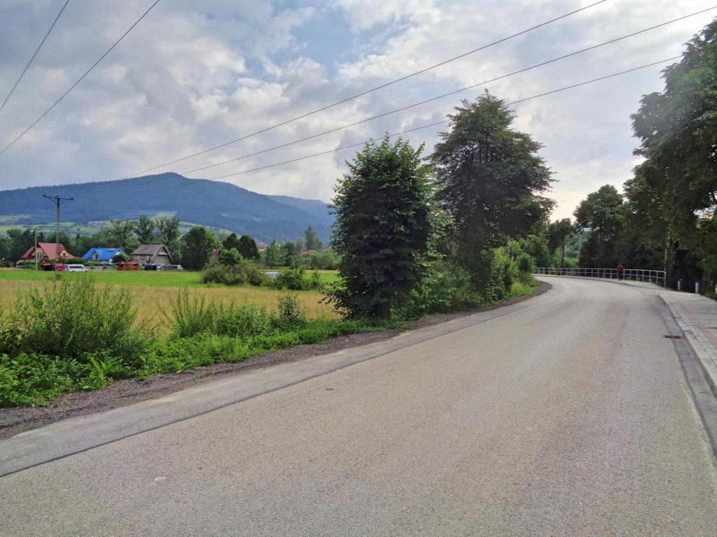 Przełęcz Glisne, Mszana Dolna