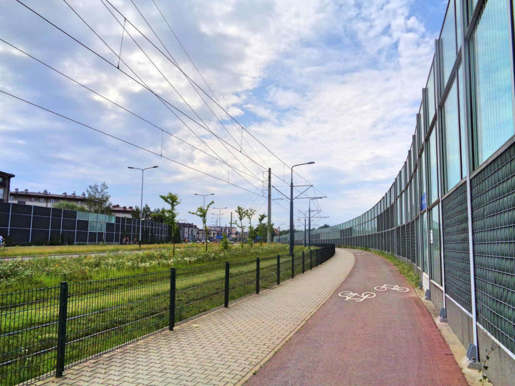 Ścieżki rowerowe w Krakowie