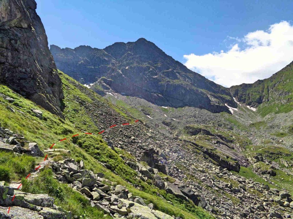 Dawny szlak Karb - Świnicka Przełęcz