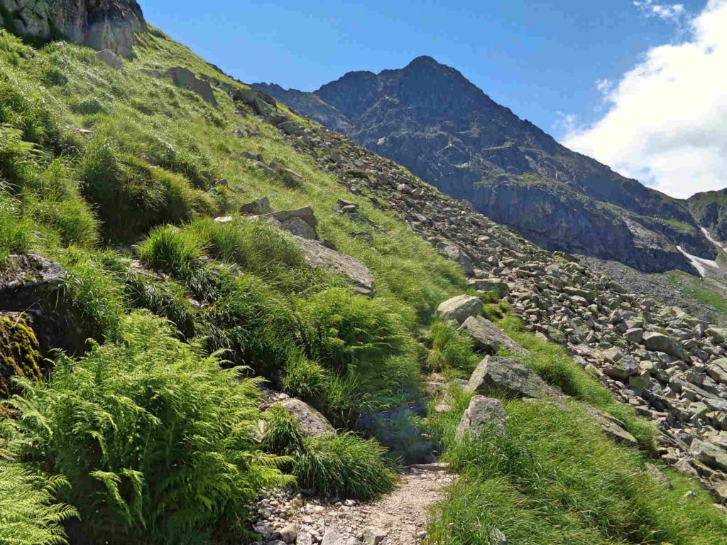 Dawny szlak Przełęcz Karb - Świnicka Przełęcz