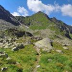 Karb - Świnicka Przełęcz, dawny szlak