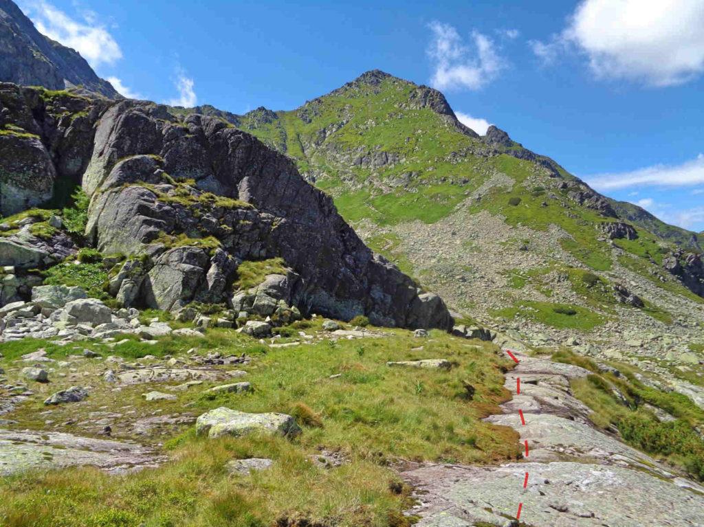 Karb - Świnicka Przełęcz, szlak