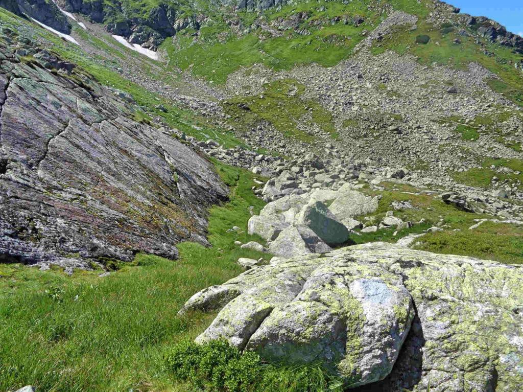Śladami starego szlaku na Świnicką Przełęcz