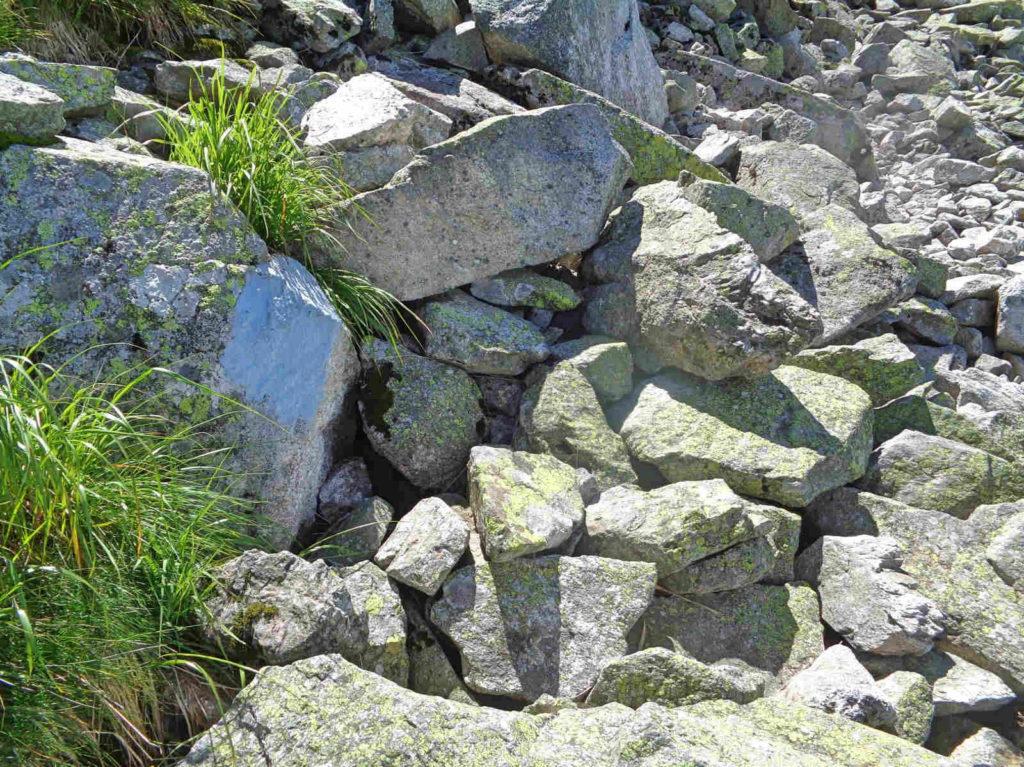Stary szlak Przełęcz Karb - Świnicka Przełęcz