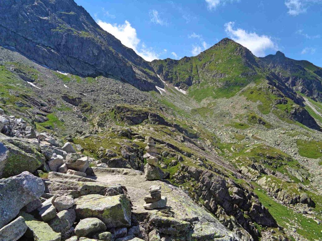 Stary szlak z Karbu na Świnicką Przełęcz
