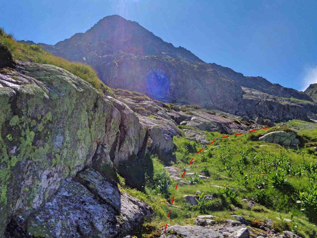 Szlak od Karbu na Świnicką Przełęcz