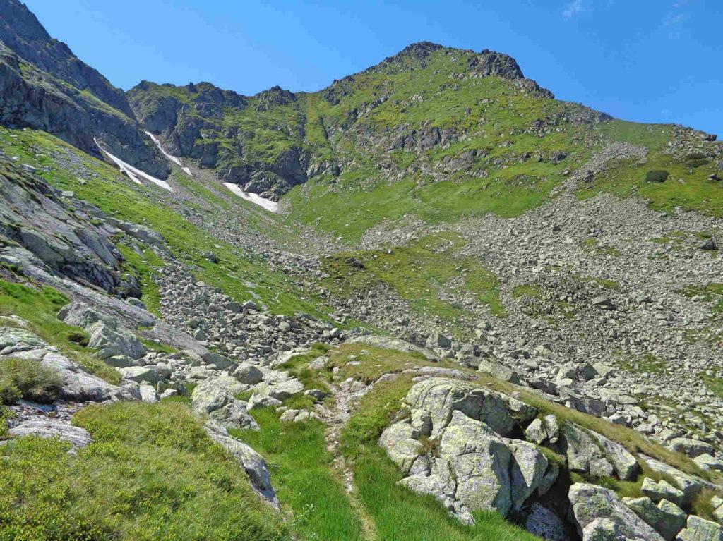 Szlak z Karbu ku Świnickiej Przełęczy