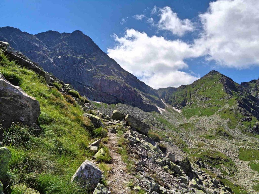 Szlak z Karbu na Świnicką Przełęcz