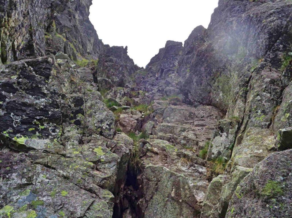 Białczańska Przełęcz Wyżnia, wejście