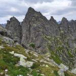 Zejście na Wyżnią Przełęcz Białczańską