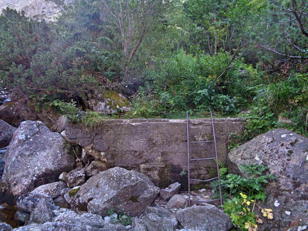 Dolina Złomisk, drabinka