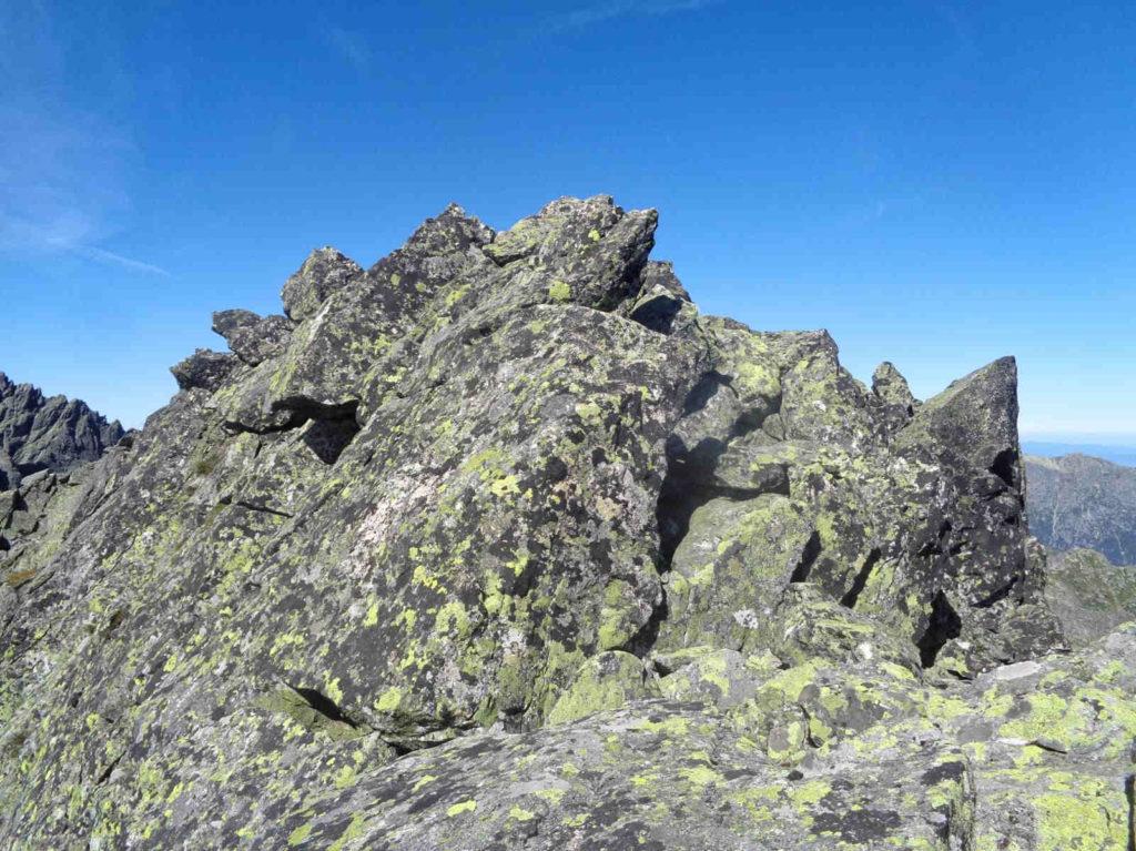Ganek, wejście na szczyt