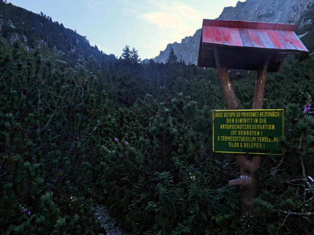 Wejście do Doliny Złomisk