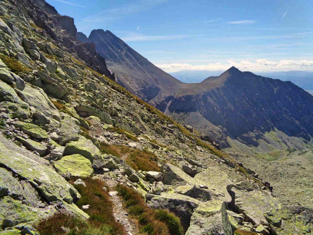Zejście z Gankowej Przełęczy