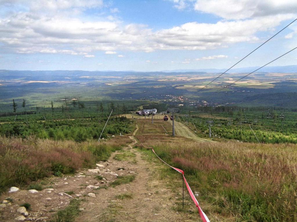 Tatrzańska Łomnica, szlaki
