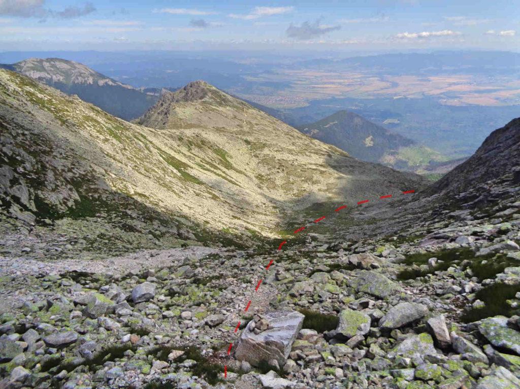 Zejście do Doliny Huncowskiej