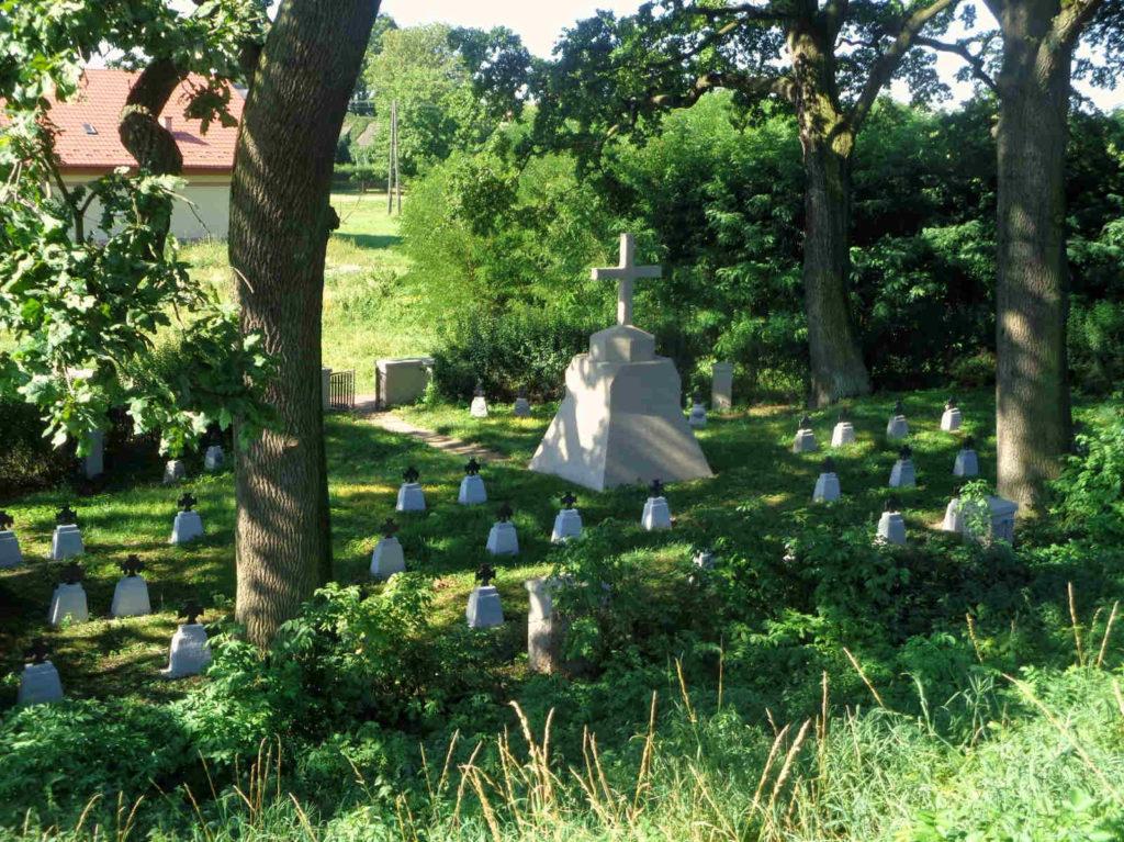 Glów, cmentarz z I-wojny światowej