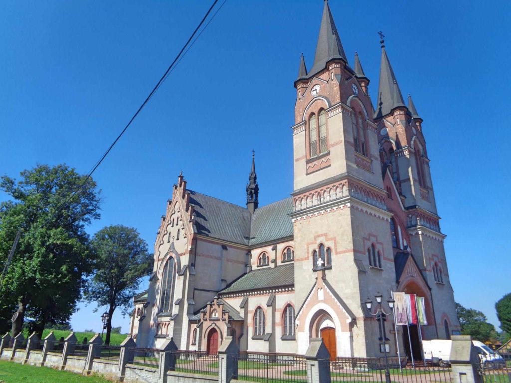 Otfinów, kościół Piotra i Pawła
