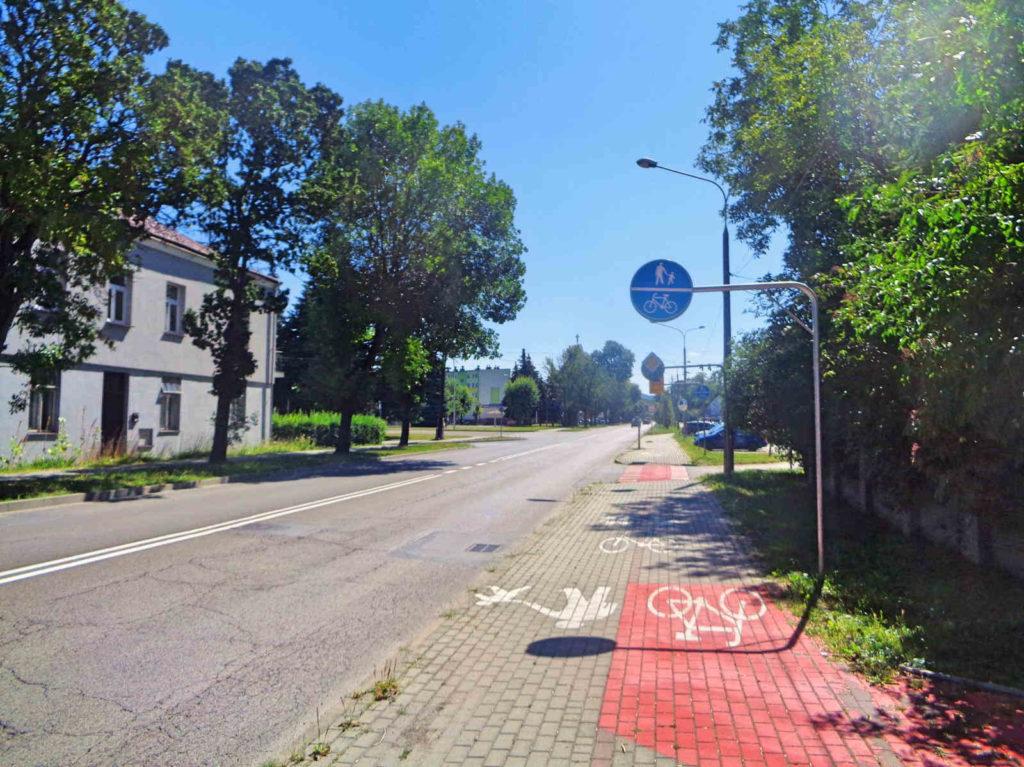 Tarnów, ścieżki rowerowe