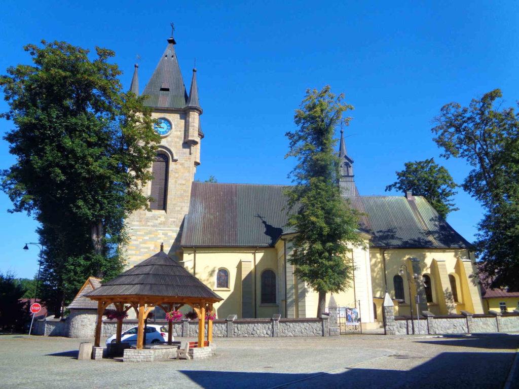 Szaflary, kościół