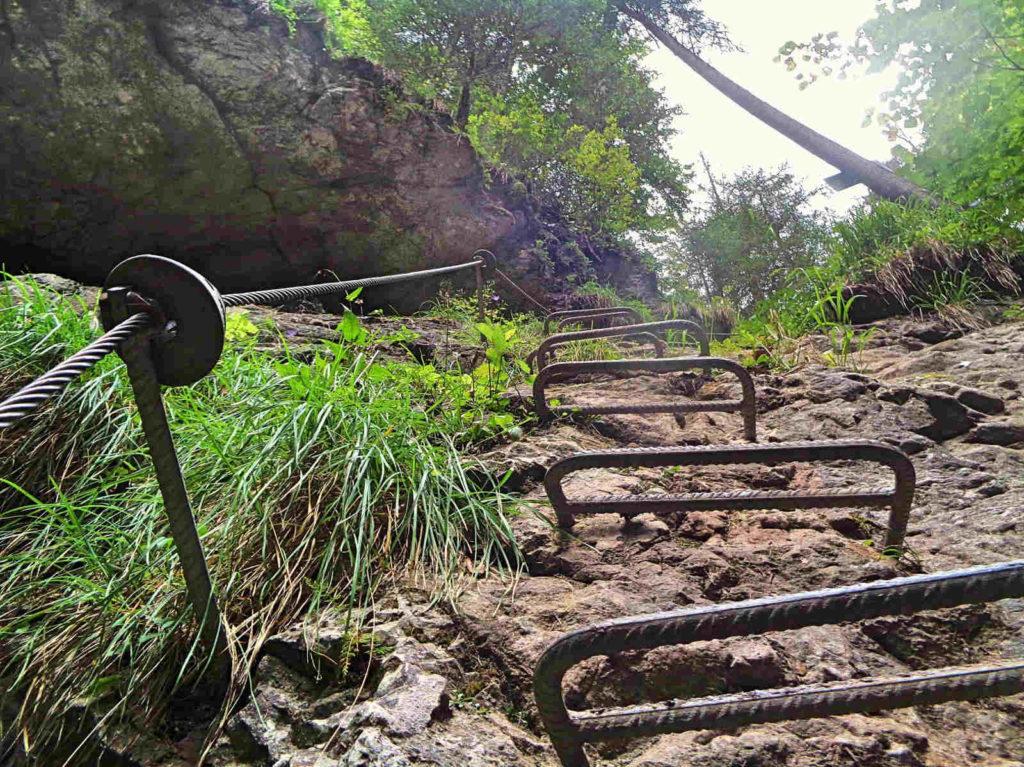 Obrovsky Vodopad, via ferrata