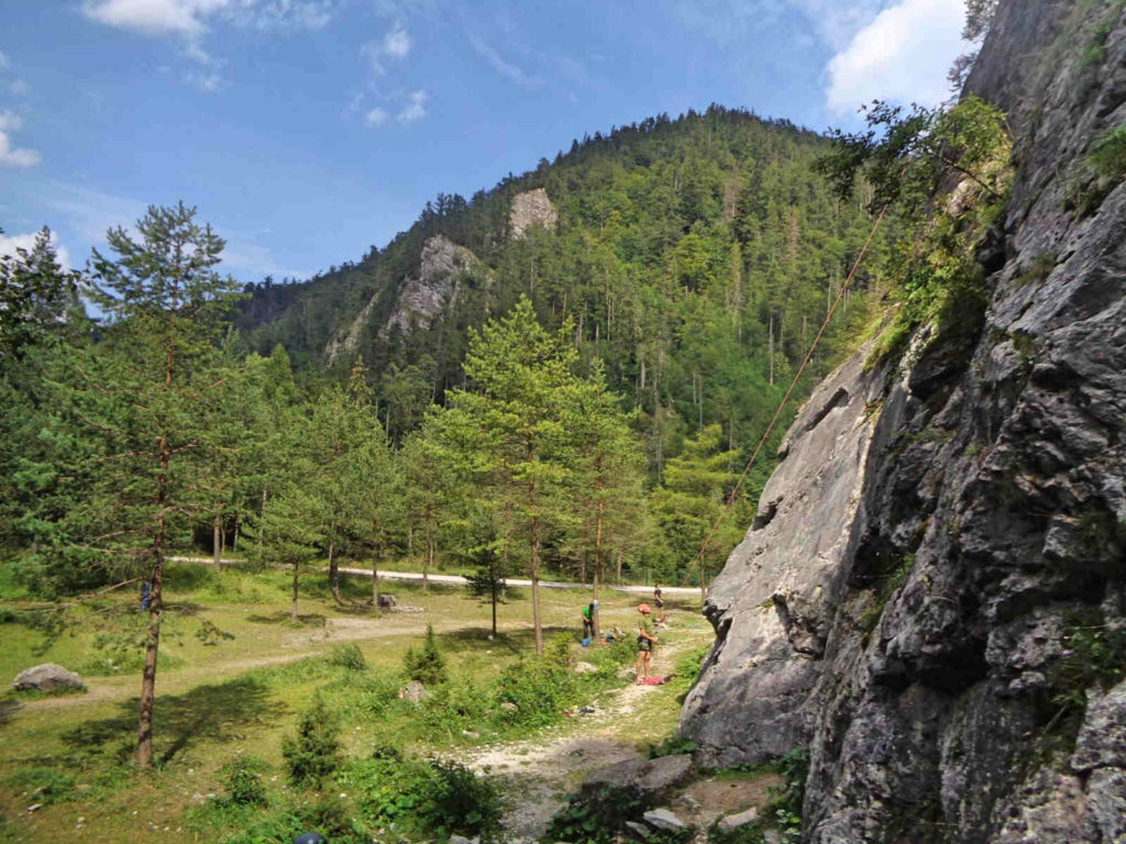Tatrzańska Kotlina, wspinaczka