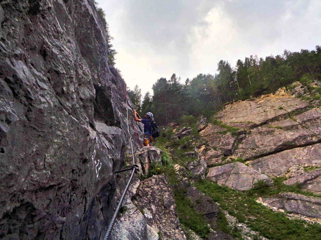 Via ferrata Stary Lom