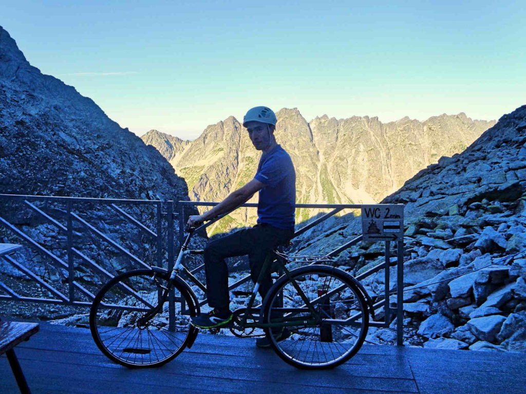 Chata pod Rysami, rower