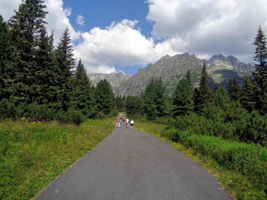 Szlak nad Popradzki Staw