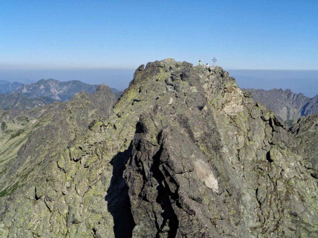 Wysoka, widok na wierzchołek północno-zachodni