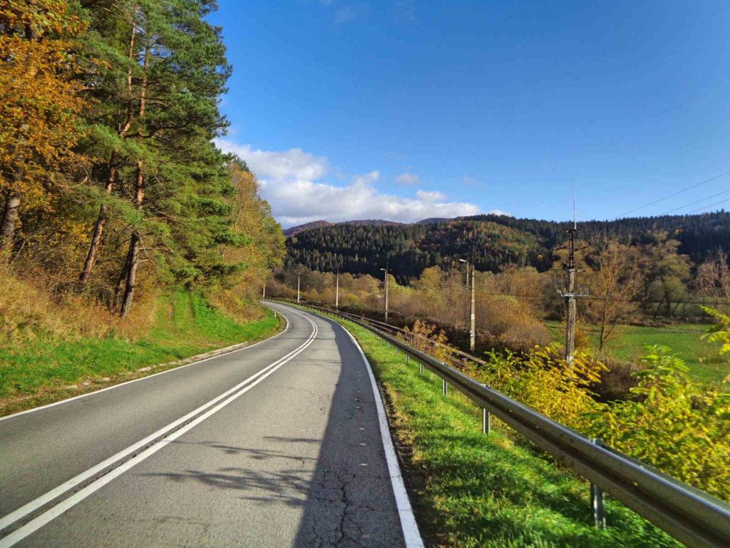 Dolina Popradu na rowerze