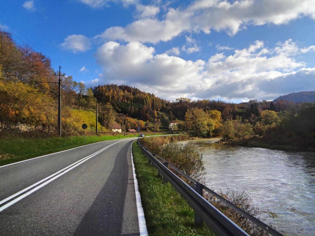 Dolina Popradu rowerem